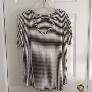 Jones and Co striped shirt
